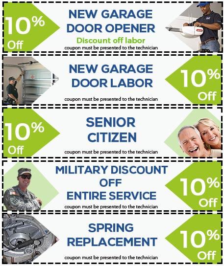 Coupons Garage Door 24 Hours Repair